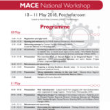 MACE National Workshop – Programme 2018.indd